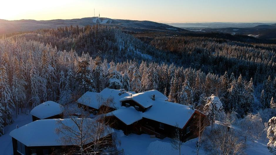 Fortsatt vinter på Kobberhaughytta
