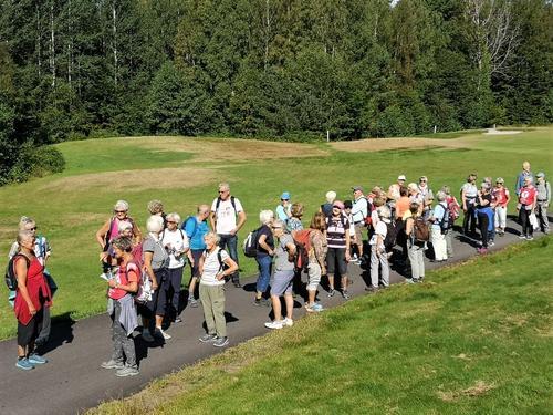 Seniortur på Nøtterøy 25. august.