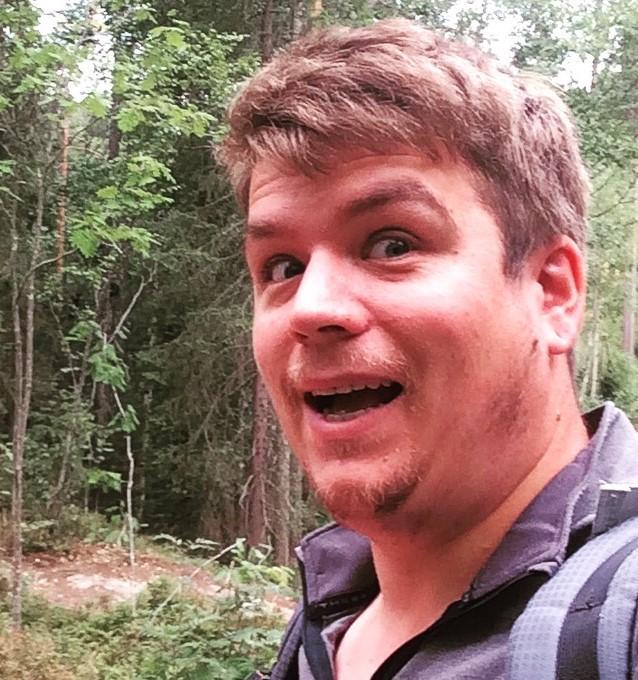 Jørn Larsen, ny frivillighetskoordinator i DNT Lørenskog, har alltid et smil på lur.