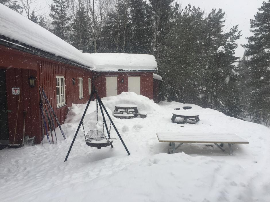 Brannåsen en vinterdag