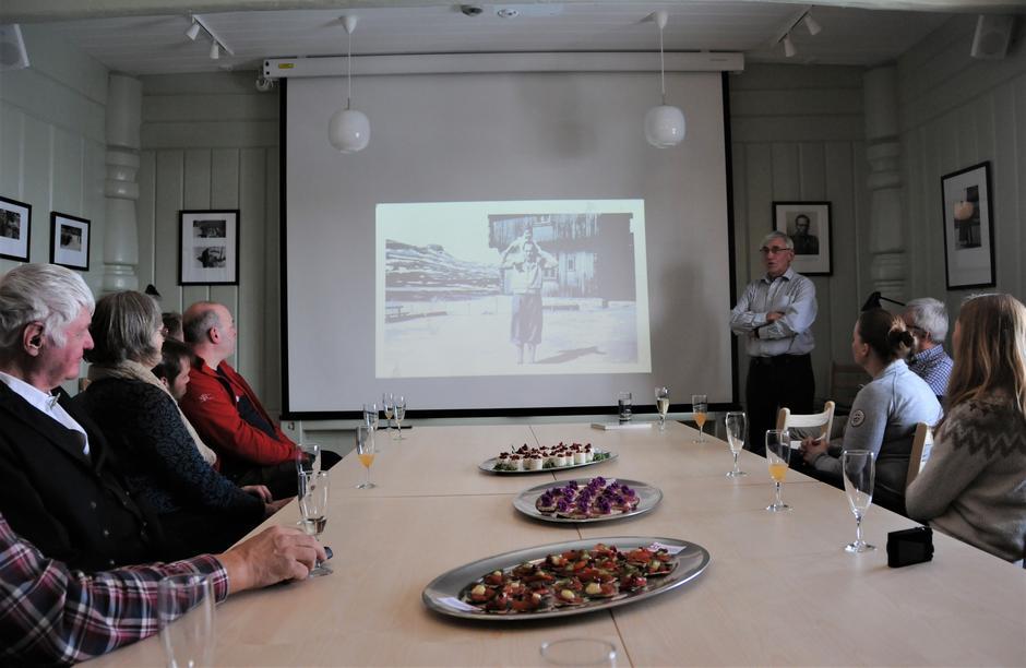 Bjørgulf Haukelid, sønn av Knut Haukelid, holdt et inspirerende og fengslende foredrag om faren.