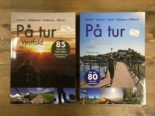 Bøker: På tur i Vestfold (del 1 og del 2)