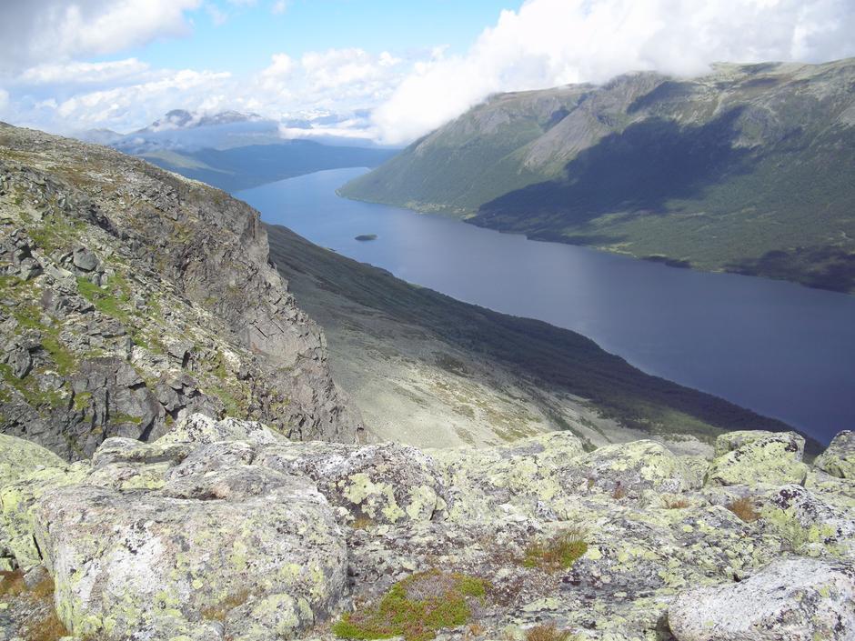 Utsikt mot Helin og Vang