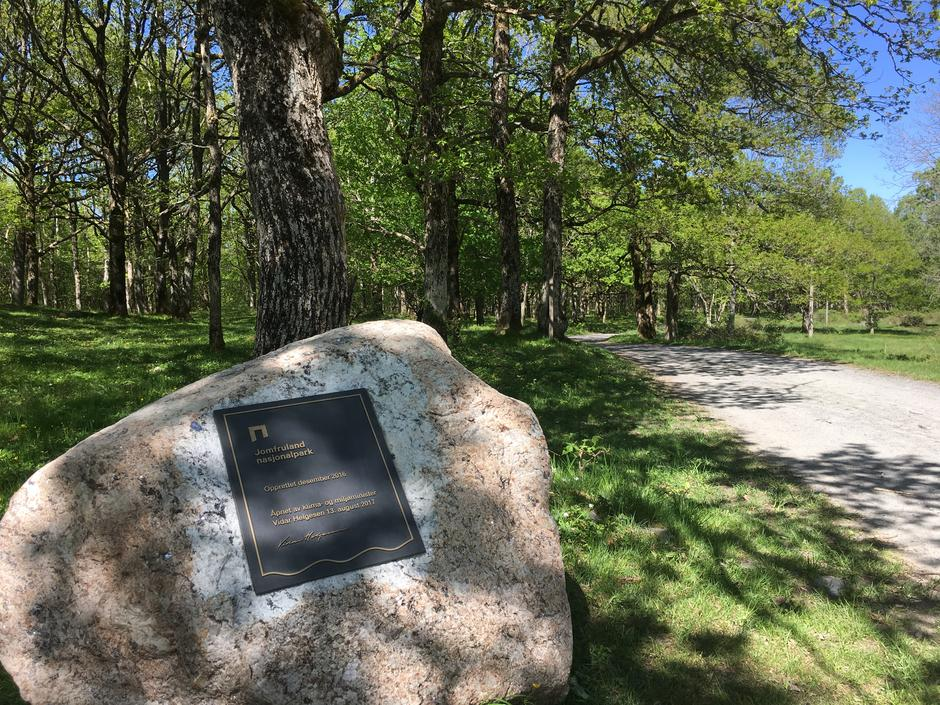 Nasjonalparksteinen