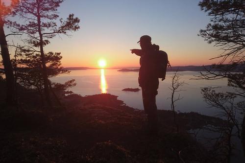 Utsyn fra Skåtafjellet