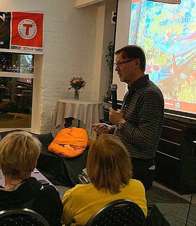 Styreleder, Ragnar, takket alle for oppmøte og ønsket alle en spennende fremtid med mye friluftsliv. Sandefjord Turistforening har turer for alle.