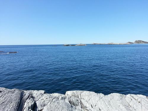 Utsikt over havet fra Bekhilderen