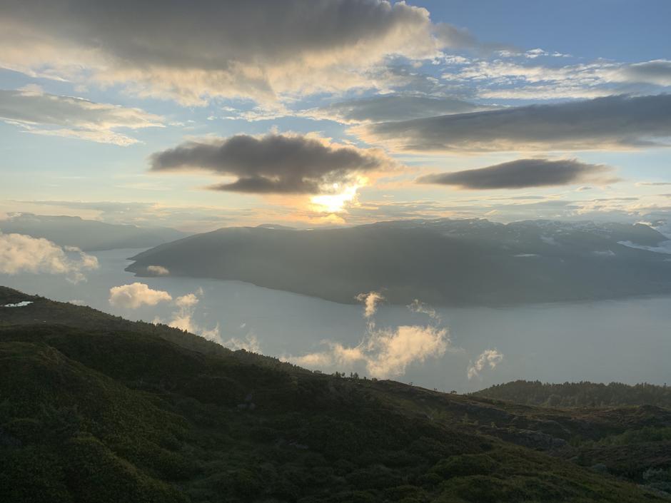Utsikt til Sognefjorden