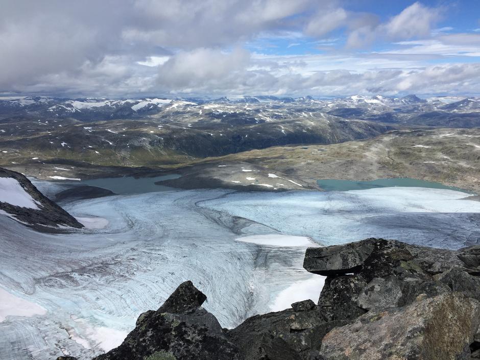 Bøverbreen sett fra Skeie
