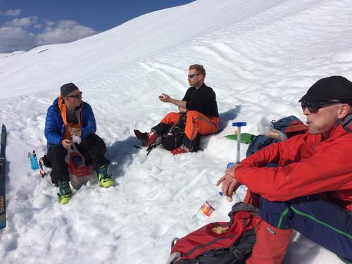 Skitur til Glittereggja