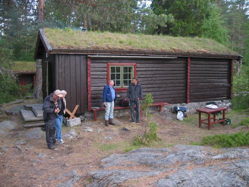 Hovinkoia på Ringerike - før flytting.