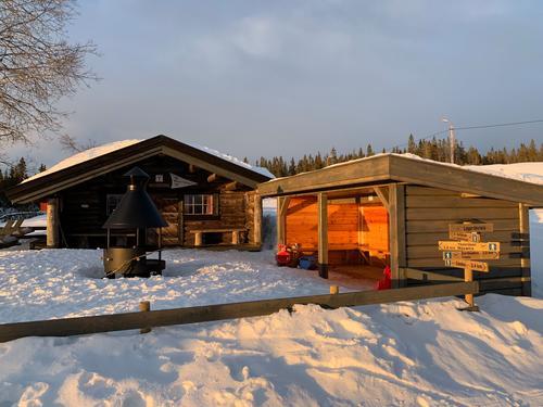 Nyt vinteren på ei HHT-hytte