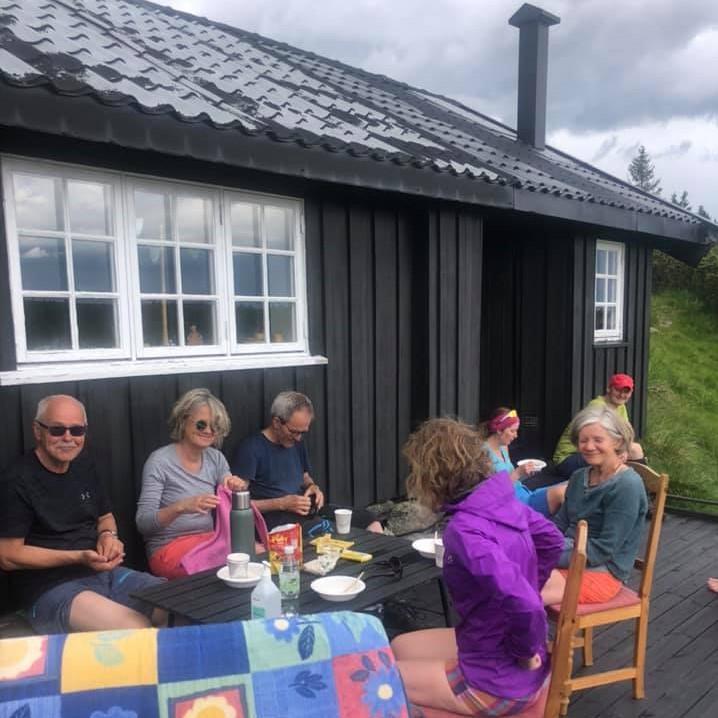 Populært med kål på Nevelsjå.