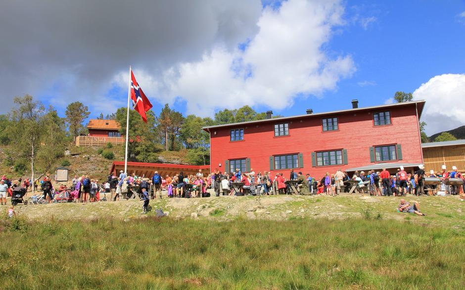 Olalia  Fjellstove åpning 2014