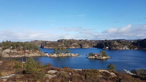 Utsikt mot Lotrevikja