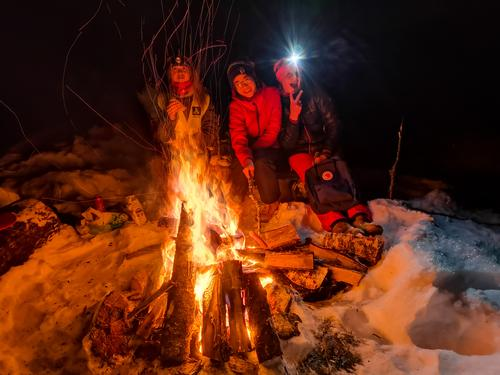 13. desember hadde DNT Ung Valdres tur til Bilihusknatten i Skrautvål