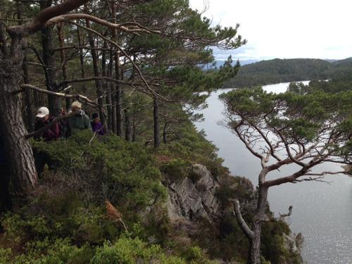 Ved Siglingavatnet på Asløy