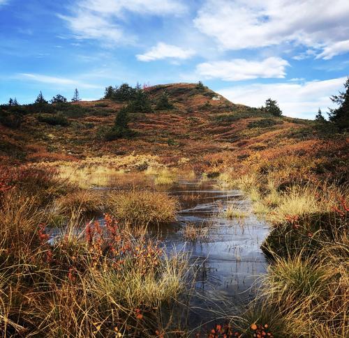På vei opp mot Prestkjerringa i Fåberg vestfjell