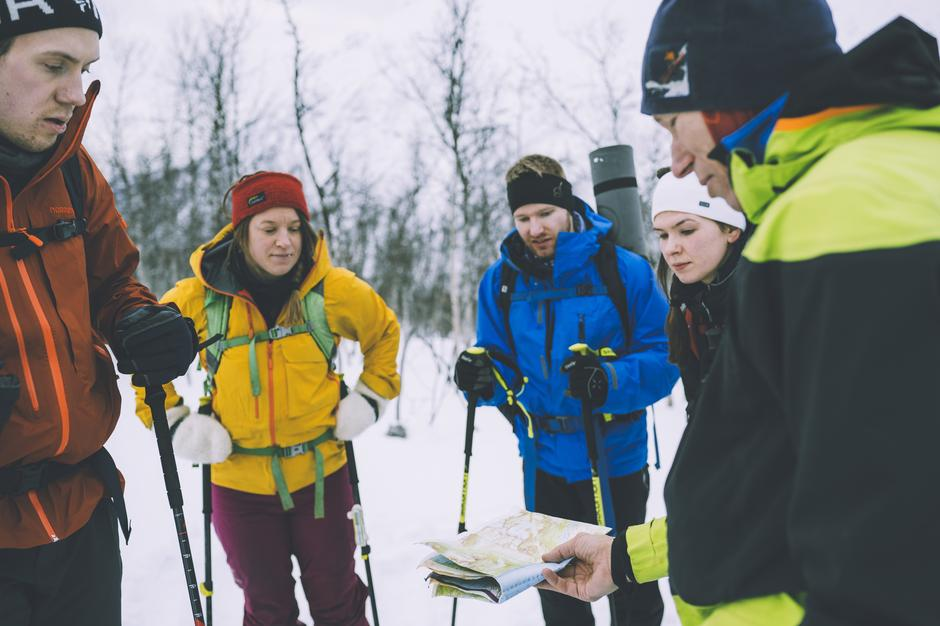 Skredkurs i Tromsø februar 2020.