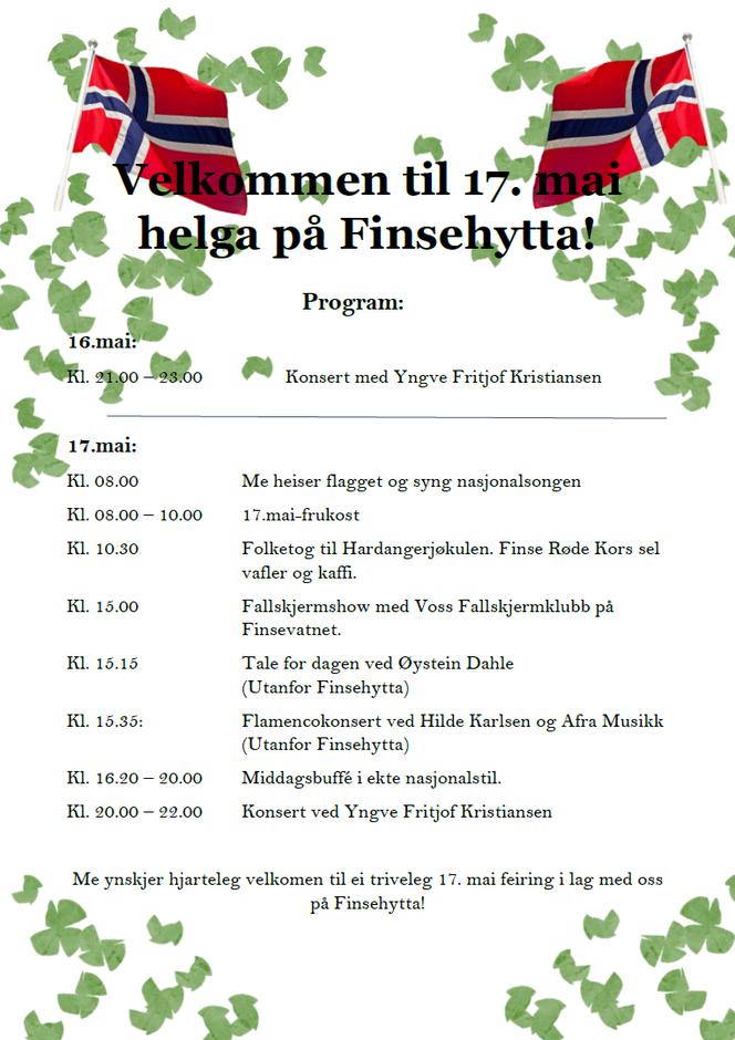 Program 17. mai