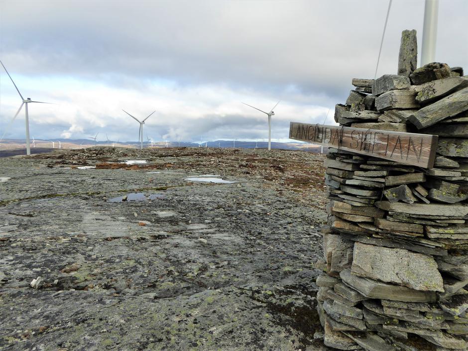 Langdalsheian i Snillfjord er ett av naturområdene som nå er tapt og omgjort til vindindustriområde.