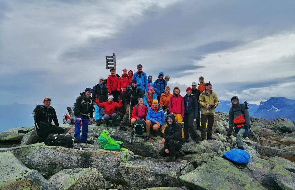 På toppen av Wirumkjerringa