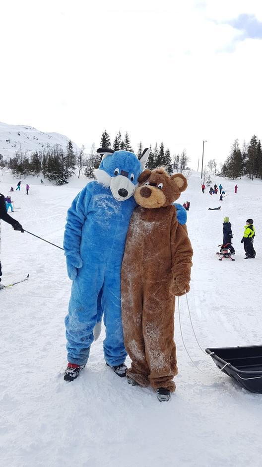 Turbo og bamse på Kom deg ut-dagen!