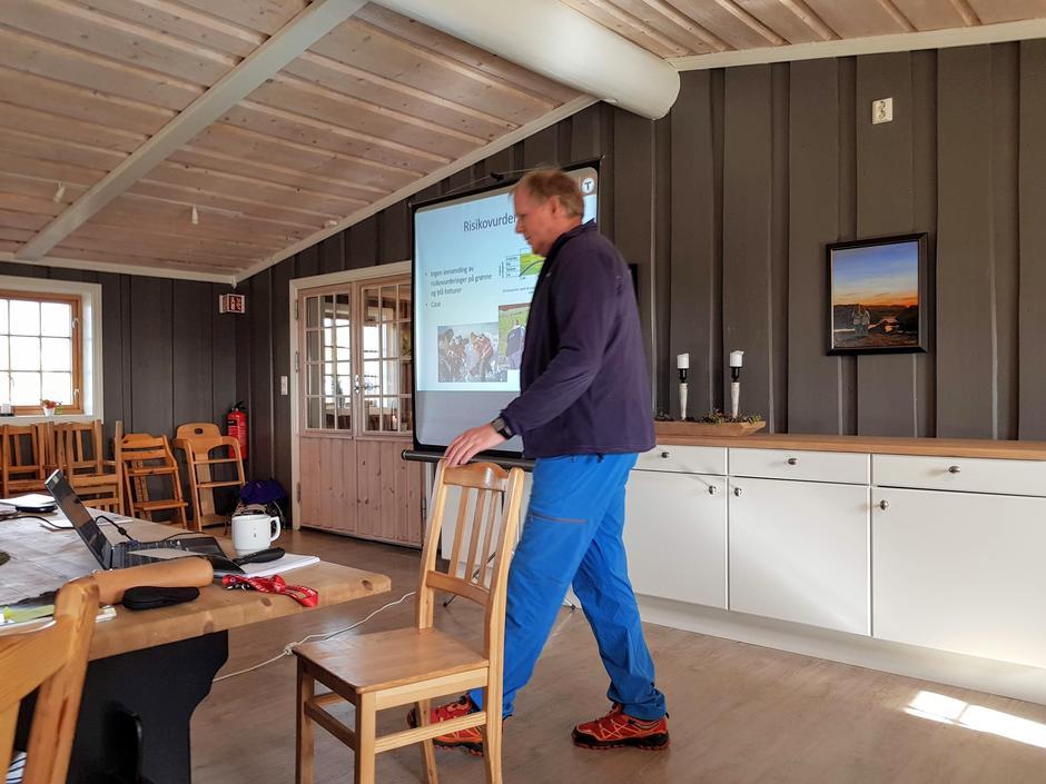 Takk til Torkjell Haugen som hadde forberedt og ledet turledersamlingen