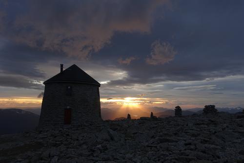 Skålatårnet i solnedgang