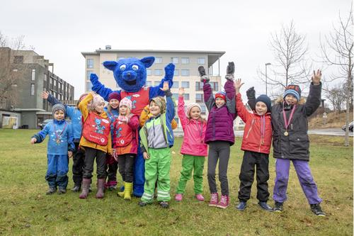 Barnas Turlag hadde Turbofest i sentrum