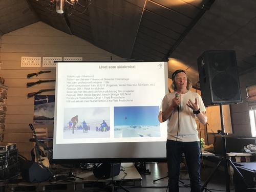 Foredrag med Anders Backe i 2018