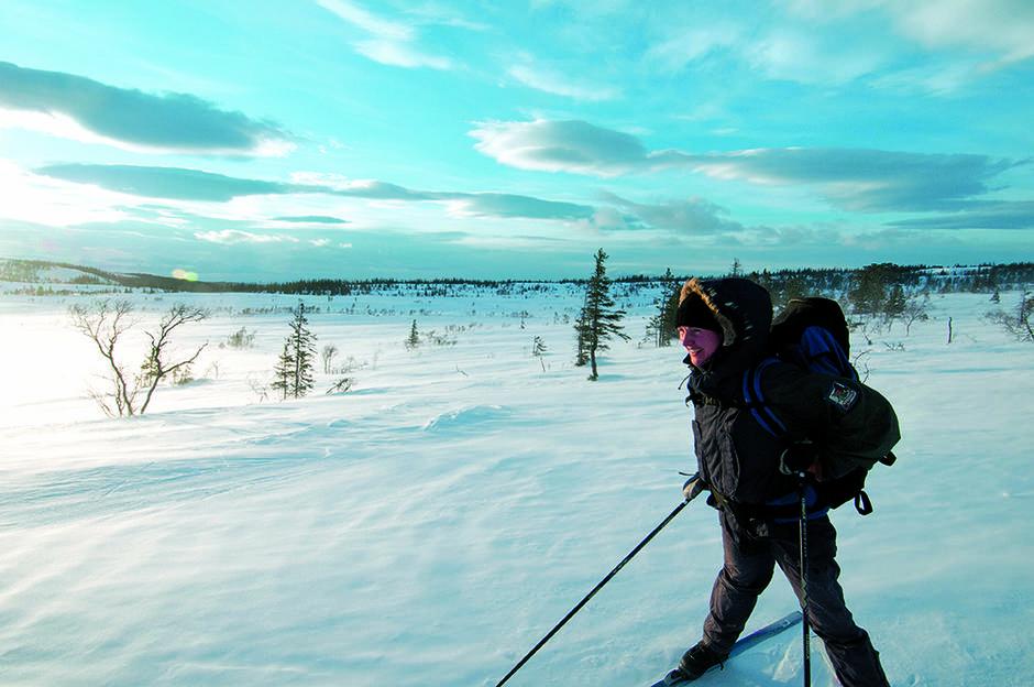 VINTERFJELLET: Her er fem flotte tips til lett tilgjengelige turer.