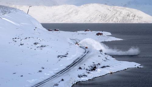 Nytt system for snøskredsikring på fv. 53 i vinter