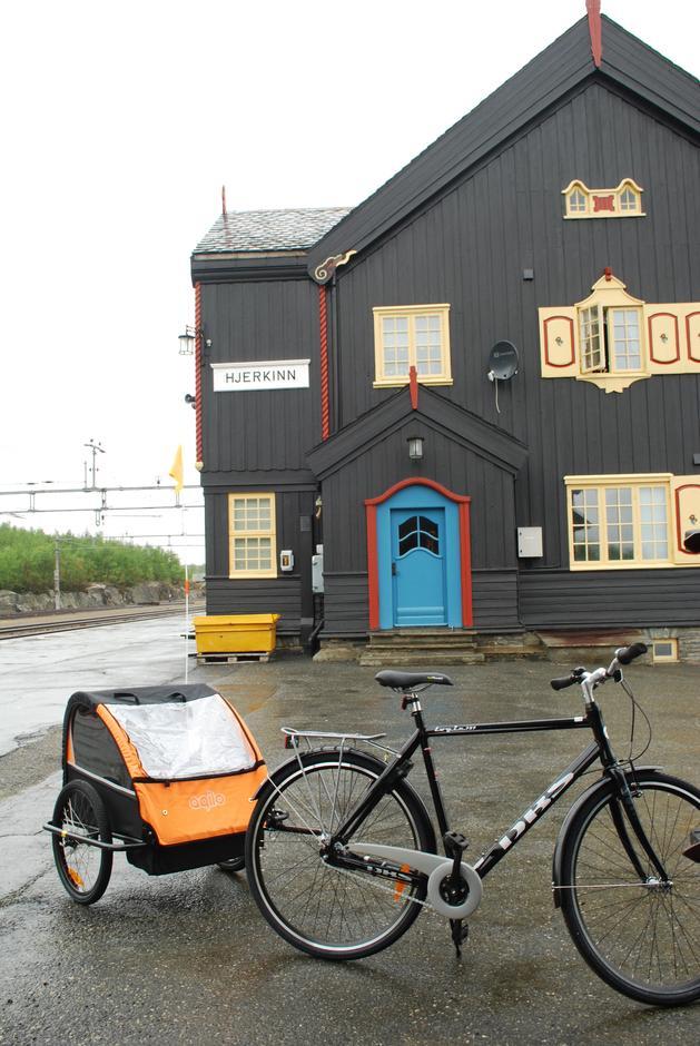 Sykler kan leies på stasjonen. Kontakt Grimsdalshytta for bestilling.