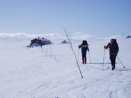 Ekstratur 7.mars på Hardangervidda