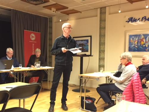 Årsmøtet ble avholdt 13. mars