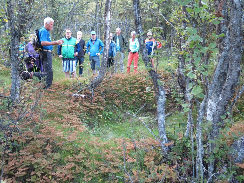 Orientering om kullgrop ved Hulabak