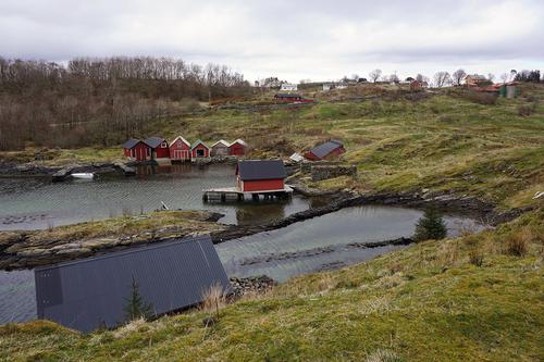 Naustmiljøet på Straume