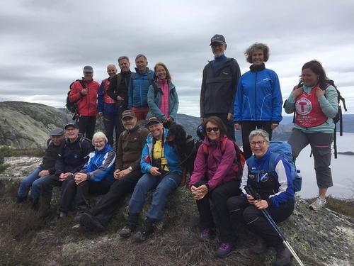 Frå turen over Langfjell i Nissedal 2. juni 2019