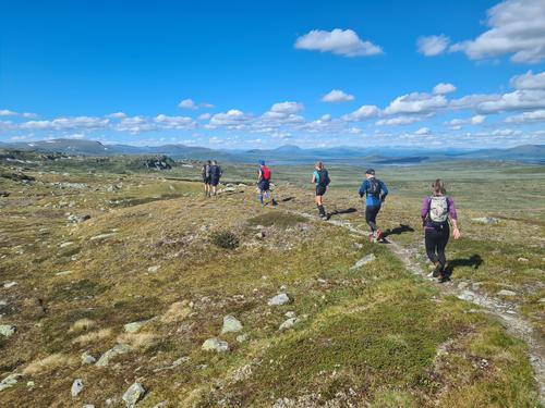 Fellesløpetur i fjellet