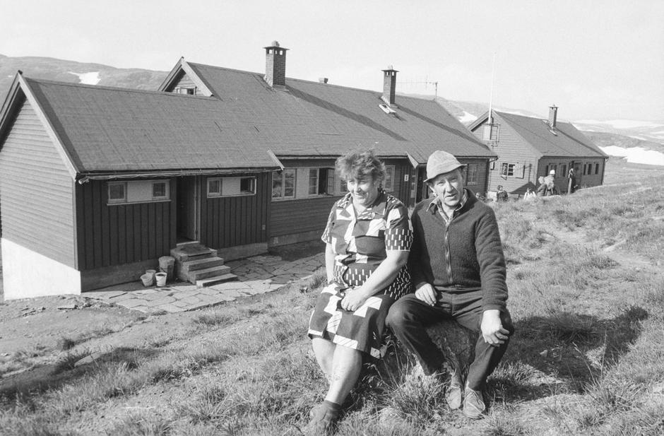 Margit og Ingvald Øvregård