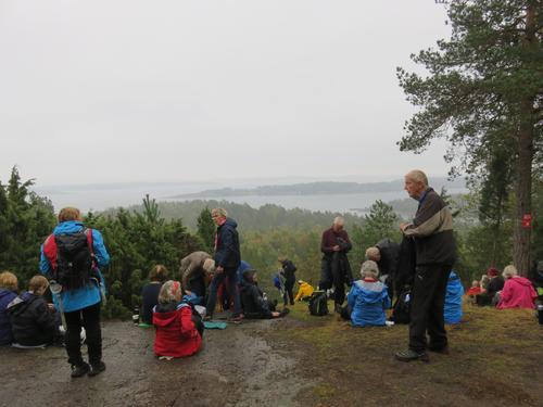 Seniorene på tur til Torød Stranda, Nøtterøy 23. september 2020