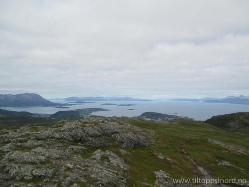 Utsikt fra Vardheia