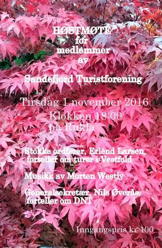 Høstmøte 1.november