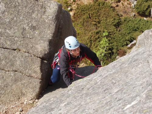 På klatrekurs med DNT fjellsport Bergen
