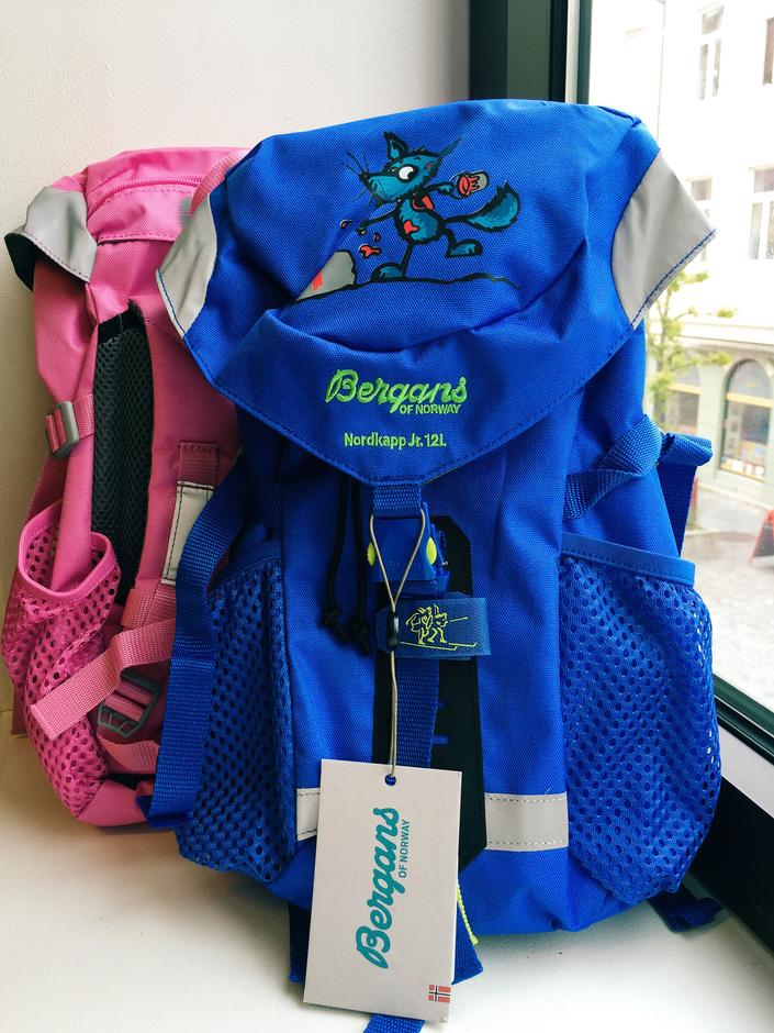 Barnas Turlags Turbo ryggsekk i blå og rosa (fargen er mørkere enn på  bildet) 9cf052d43d5ed