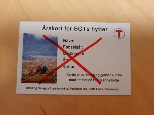 Det blir ikke mulig å kjøpe årskort for hyttene i 2021