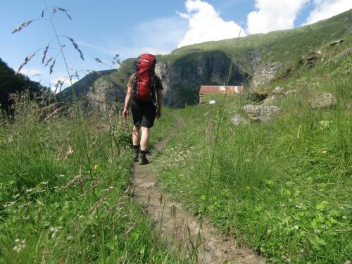 Vandrer i Aurlandsdalen