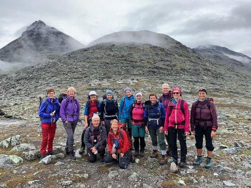 Kvinner på Randen 2019 til Leirvassbu