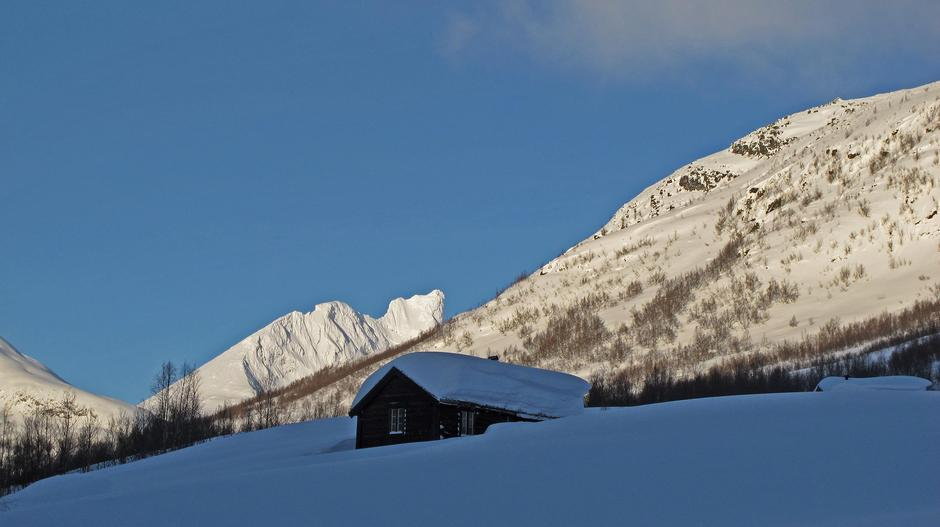 Vinter i Gravdalen.